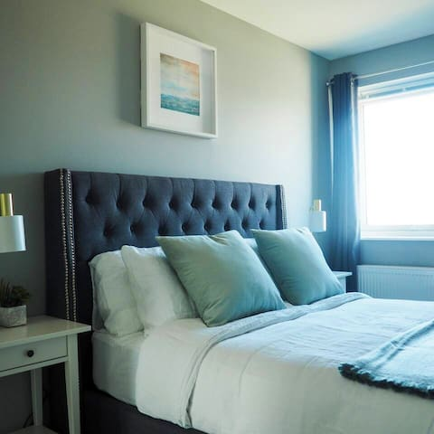 One of the gorgeous double bedrooms