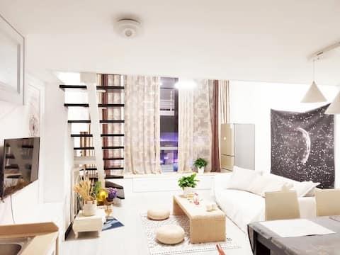 美式loft主题大床房