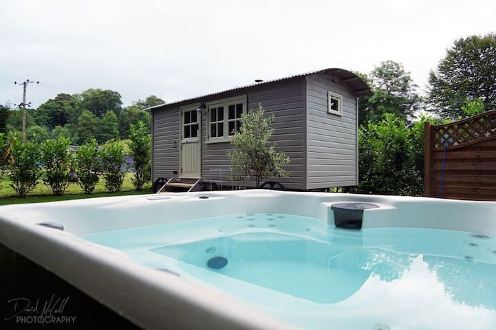 THE SNUG WITH HOT TUB, Longtown, Scottish Borders - Longtown - Huis