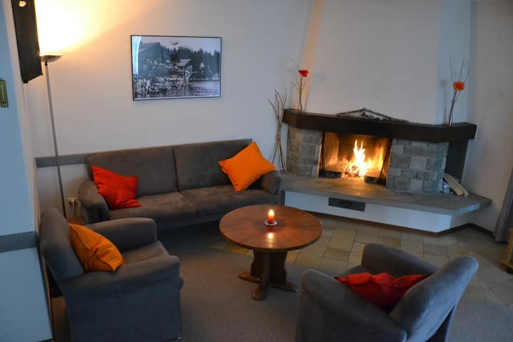 Fantastic spacious flat in Flims