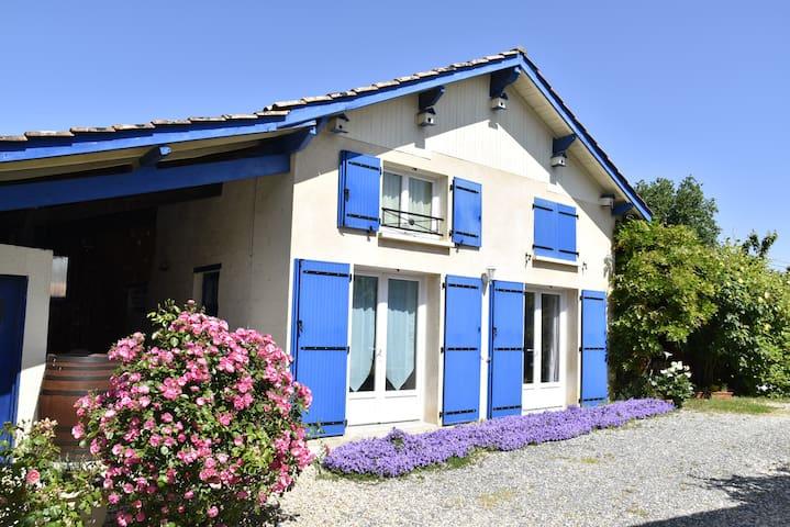 Maison dans vignoble de BORDEAUX-BOURG-BLAYE-CNPE