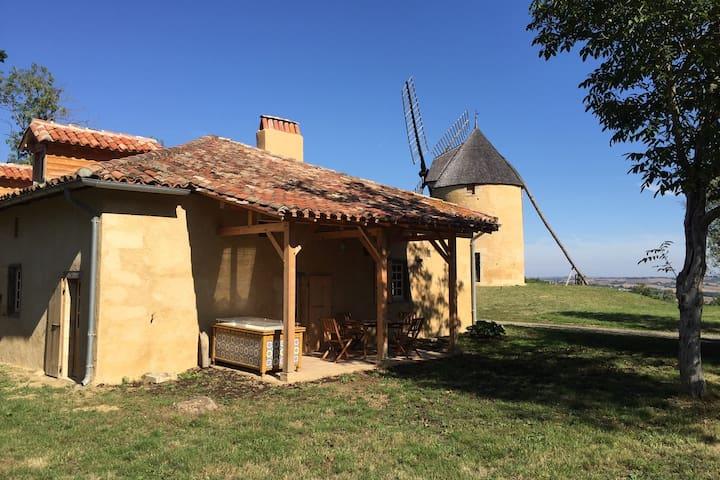 Maison du Meunier, pour les Amoureux du Patrimoine - Montpézat - Hus