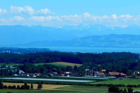 Panorama Ferienwohnung & Hallenbad - Oberteuringen - Byt