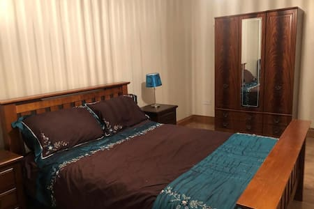 Comfortable  king size room with private bathroom