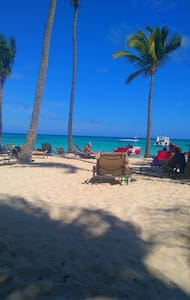On the beach/Los Corales/Punta Cana - Appartement