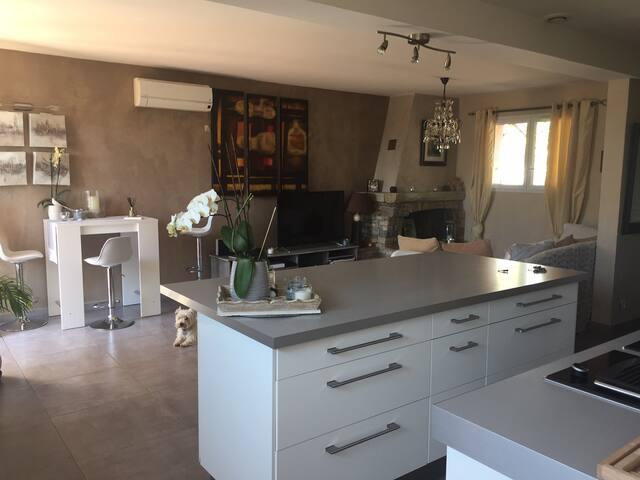 Coquette Petite Maison pour 4 personnes - Draguignan - Ev