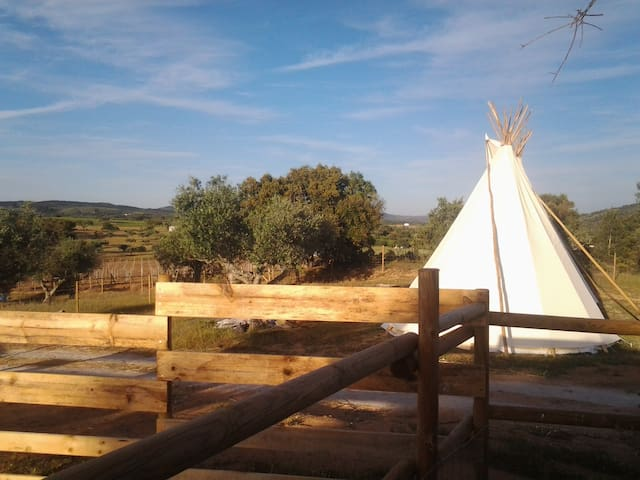 Ranch do Novo Mundo Tepee - 2 to 4p - Vila de Frades - Tepee