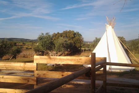 Ranch do Novo Mundo - Tipi 2 à 4 p - Vila de Frades