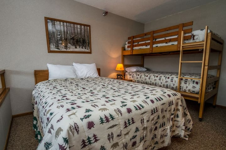 Caribou Highlands Alpine 115A is a Cozy Lutsen Vacation Condo Located at Caribou Highlands Lodge in the Superior National Forest.
