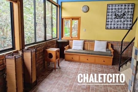 Chaletcito: Apartment with garden view