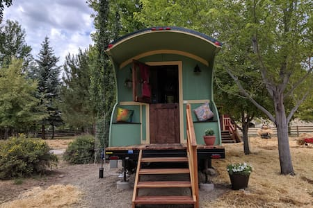 15% off -#2 Gypsy Wagon/Tiny House on the River