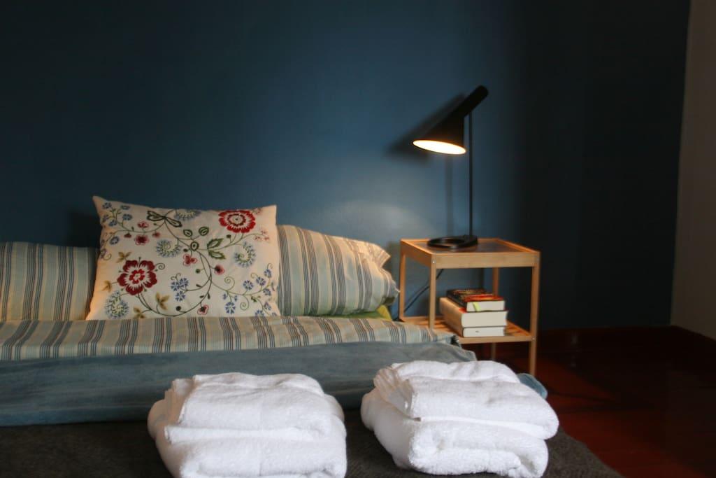 Dein Zimmer/ Das Bett