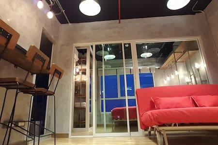 Cozy Loft 202 | 2Guest | 5 mins BTS Skytrain |WIFI - Bangkok - Lejlighed