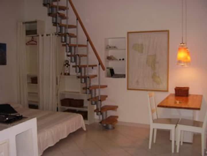 Lipari, Cozy studio apartment