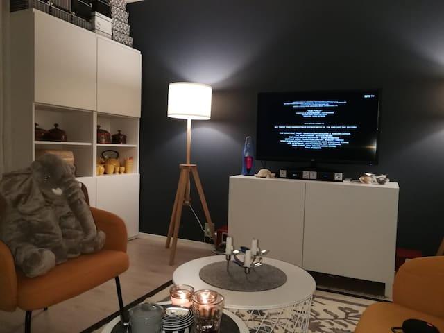 Ny og moderne 2 roms leilighet midt i Hamar by.