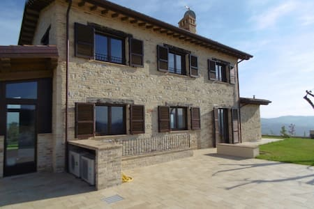 Panoramic Villa with Pool 15 mins to sea - Ripatransone - Villa