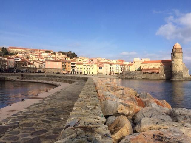 Petite maison de pêcheur au centre du village - Collioure - Dom