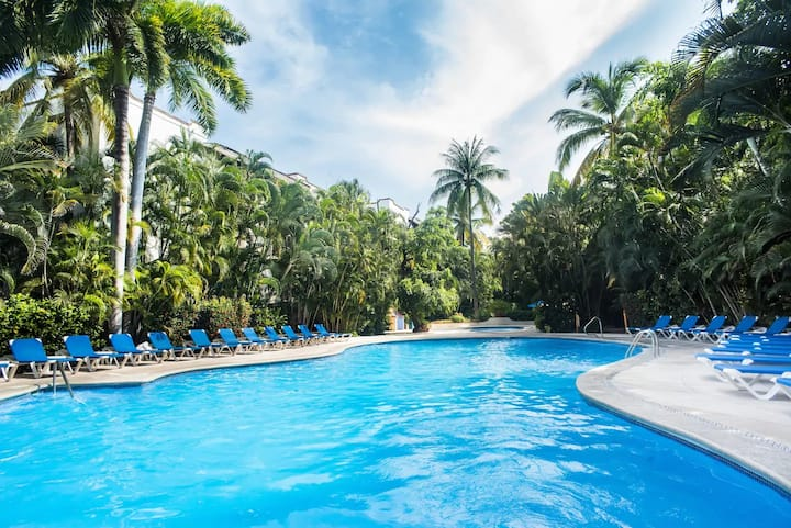Amazing Pool and Beautiful Apartment Hotel Zone PV