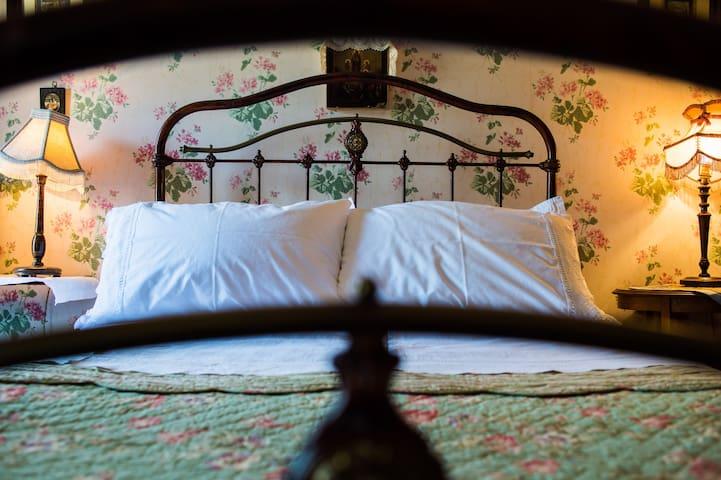 nanny hawkins: the  bed