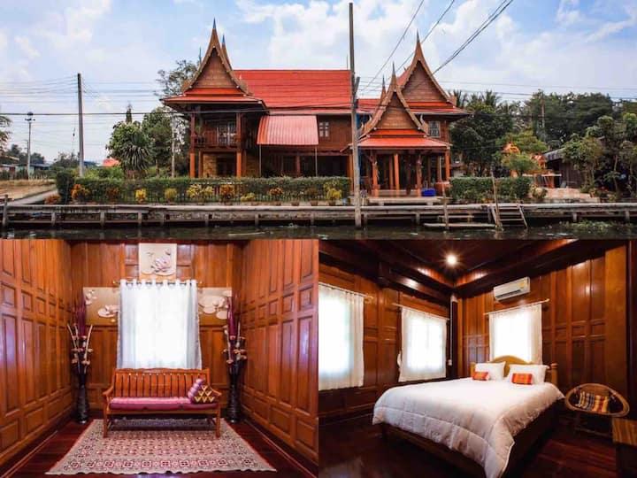 Modern luxury Thai style house🇹🇭