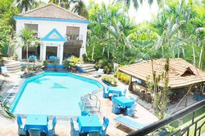 Bao Bei Rooms With Pool 5Min Baga Beach SAR