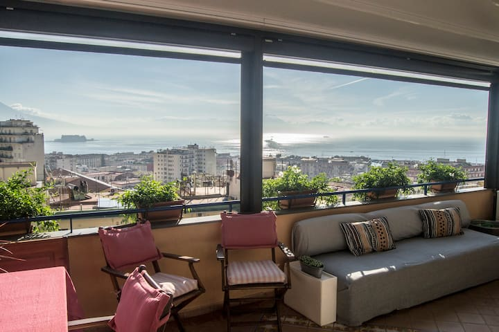 Apartment with amazing view - Casa Lalla - Neapol - Byt
