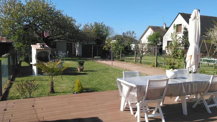 Location jardin proche circuit