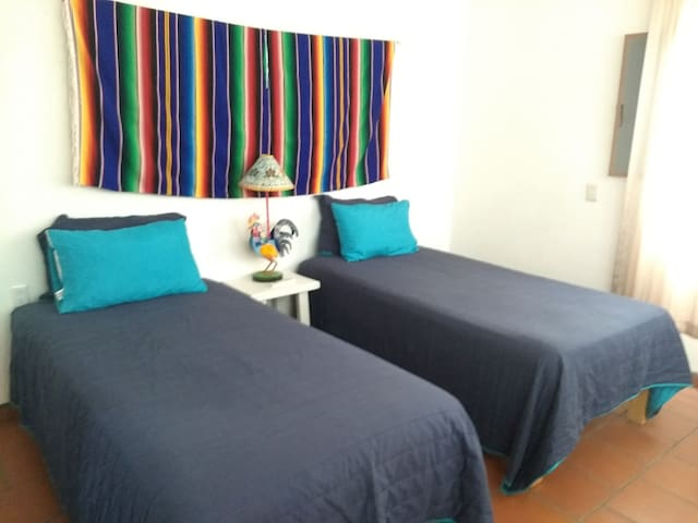 Second bedroom with comfortable beds