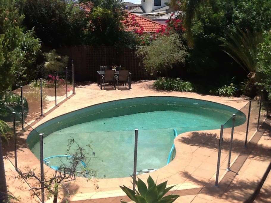 Private pool available for guests