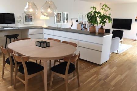 Familievenligt hjem tæt på vand og natur - Kokkedal - Σπίτι