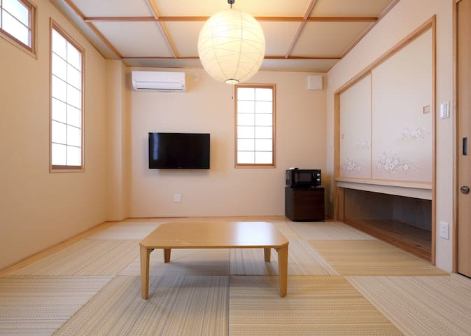 ROOMS SUIZENJI1st floor ( 華HANA)(Free parking lot)