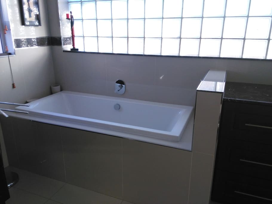Bath in en-suite - big enough and can comfortably fit 2 adults.