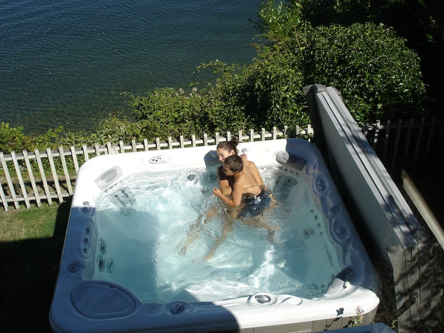 New Hot Springs 10 person hot tub