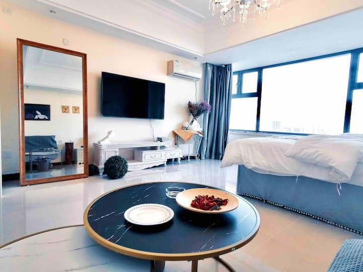 【肆意民宿】莱曼卡顿欧式主题公寓
