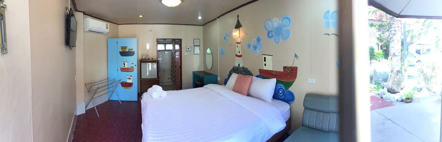 โรงแรมระยองซีวิว Rayong Sea View - Rayong - Bungalow