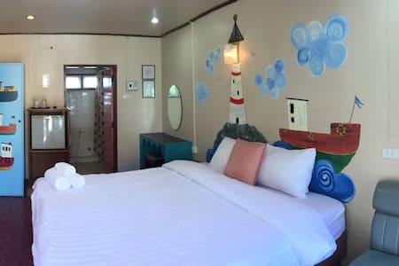 โรงแรมระยองซีวิว Rayong Sea View - ラヨン