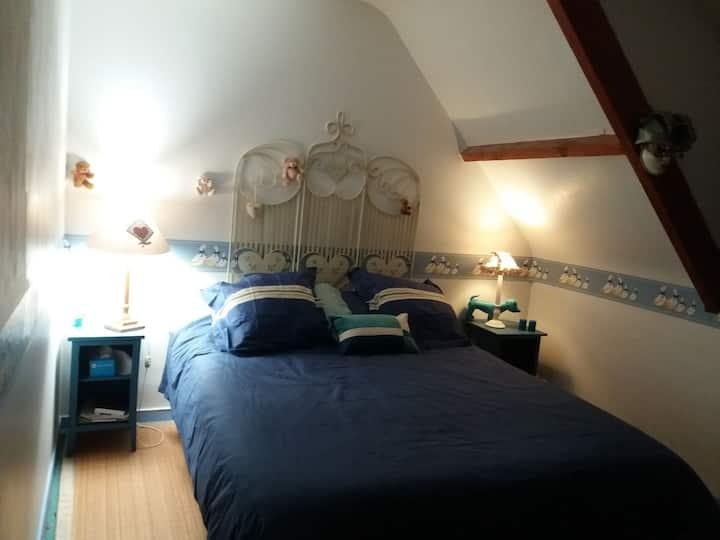 La Bohalle Bords de Loire 2 chambres privées , B&B