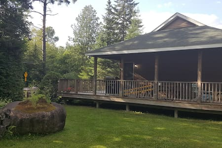Bear Cub Lodge- An Adirondack Mountain Retreat