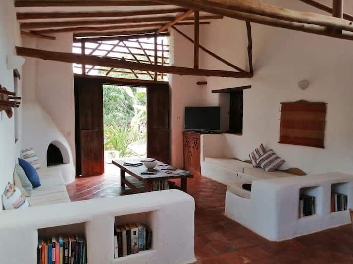 Hermosa Casa Estilo Barichara-650 metros al pueblo