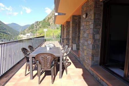 Apartamento tranquilo en la montaña WIFI y terraza - L'Aldosa de la Massana