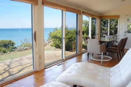 Beautiful 3 Bedroom+ Loft House with Private Beach - House