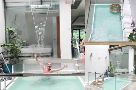 Zen Retreat Waterfall Villa