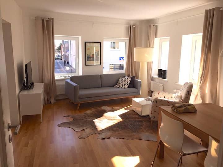 Geschmackvolle 65m Wohnung *Nordlichter* in Husum