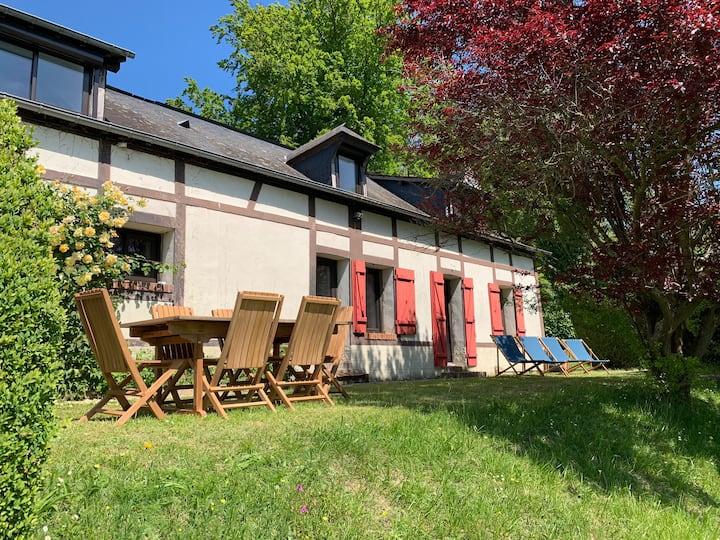 Maison, coeur forêt Lyons, 100%rénovée, 98km Paris