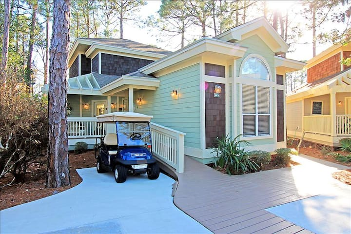 Golf Cart+Bikes☀LakeFront in Sandestin🌞2 Step Sanitizing Process🌞 Bay Pine 8878