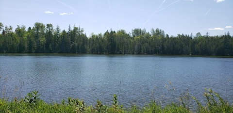 On a private Lake, completely secluded Property!