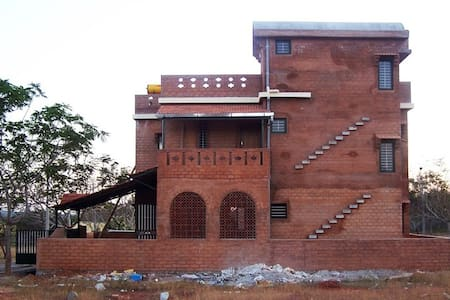 Mud house for some creative time - Nelamangala - Earth House - 1