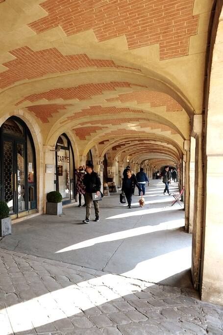 Arcade at Place des Vosges
