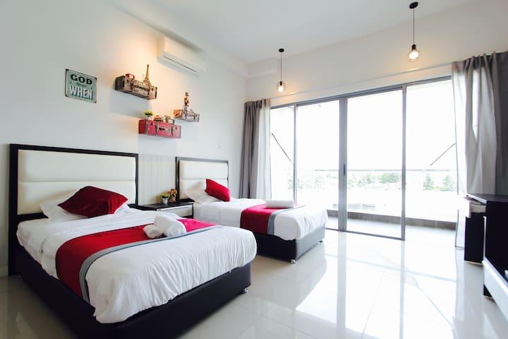 Cosy Studio Suite @ Imago/City Centre - Kota Kinabalu - Selveierleilighet