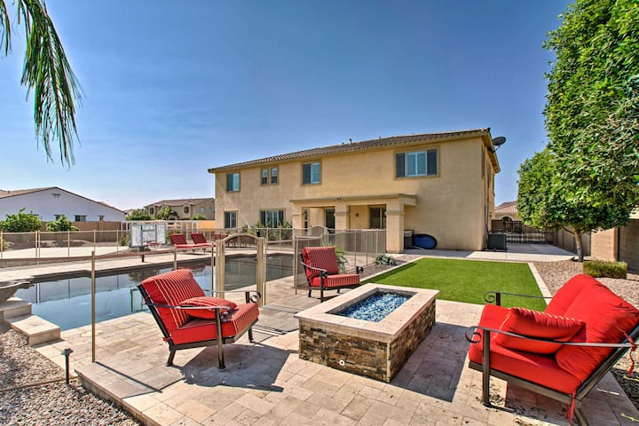 NEW! Expansive Queen Creek Home w/Pool & Fire Pit